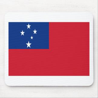Niedrige Kosten! Samoa-Inseln Flagge Mousepad