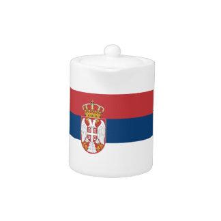 Niedrige Kosten! Serbien-Flagge