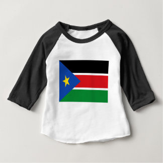 Niedrige Kosten! Südsudan-Flagge Baby T-shirt