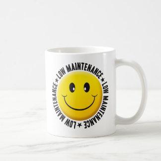 Niedriger Wartungs-smiley Kaffeetasse