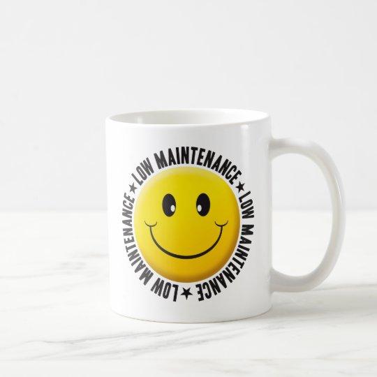 Niedriger Wartungs-smiley Tasse
