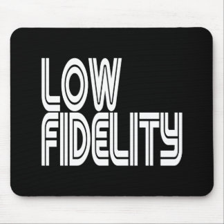 Niedriges Fidelity Mousepad