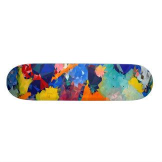 """Niedriges rotes u. blaues Skateboards 17 Poly¾ """" Personalisierte Skatedecks"""