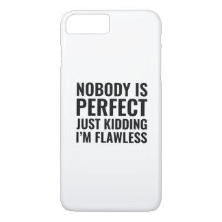 Niemand ist perfekt iPhone 8 plus/7 plus hülle