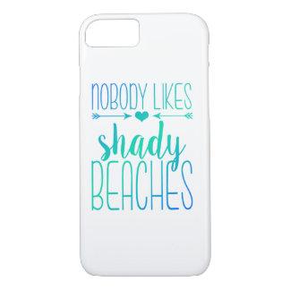 Niemand mag schattigen Türkis-Kasten der Strand-| iPhone 8/7 Hülle