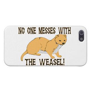 Niemand verwirrt mit dem Weasel iPhone 5 Hülle