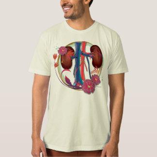 Nieren mit Blumen T-Shirt