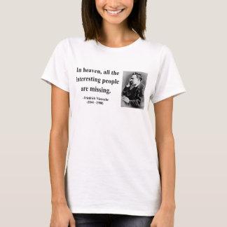 Nietzsche Zitat 4b T-Shirt