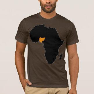 Nigeria-Herz von Afrika T-Shirt