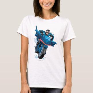 Nightwing reitet Fahrrad T-Shirt
