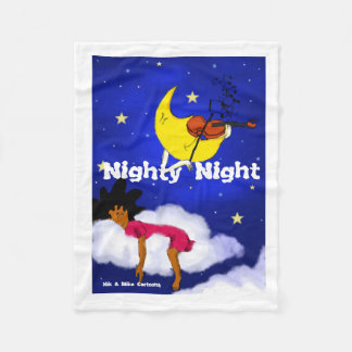 Nighty-Nacht Fleecedecke