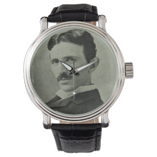 Nikola Tesla Armbanduhr