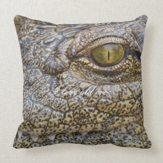 Nil-Krokodil von Afrika Kissen