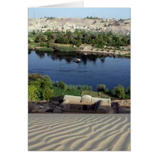 Nil-Sanddüne Karte