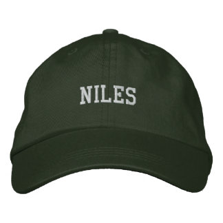 Niles Bestickte Baseballkappe