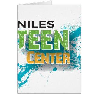 Niles jugendlich Mittellogo Karte