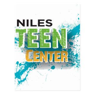 Niles jugendlich Mittellogo Postkarte