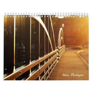 Niles, Michigan-Kalender Kalender
