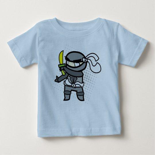 Ninja Baby-Baumwollt-shirt Baby T-shirt