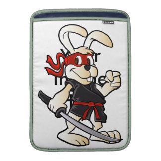 ninja Kaninchen-Cartoon Sleeves Fürs MacBook Air