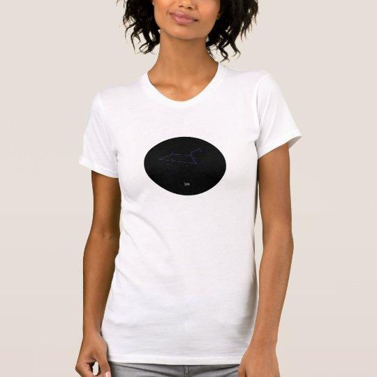 Niona Löwe Konstellations-Stern-Geldstrafe Jersey T-Shirt