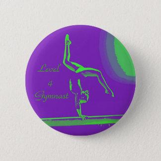 Niveau4 Gymnastknopf Runder Button 5,1 Cm
