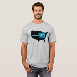 NLX über Amerika-T - Shirt