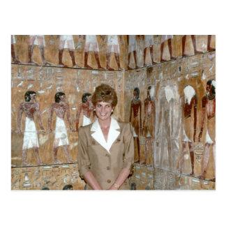 No.230 Prinzessin Diana Ägypten 1992 Postkarte