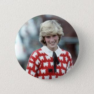 No.42 Polo 1983 Prinzessin Diana Runder Button 5,1 Cm