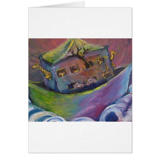 Noahs Arche Grußkarte