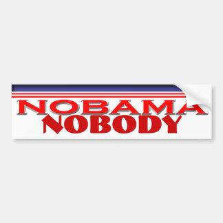 Nobama 2012 auto aufkleber