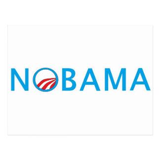 Nobama SpitzenSeliing politischer Gang Postkarten