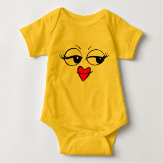 Noble Dame Emoticon Baby Costume Baby Strampler