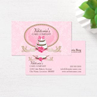 Noble Kuchen-Bäckerei Visitenkarten
