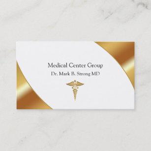 Noble medizinische Visitenkarten Visitenkarte