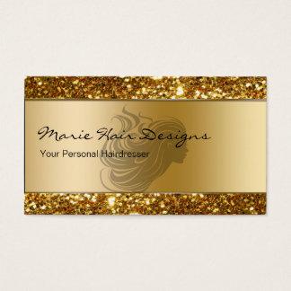 Noble Schönheits-Friseur-Visitenkarten Visitenkarte