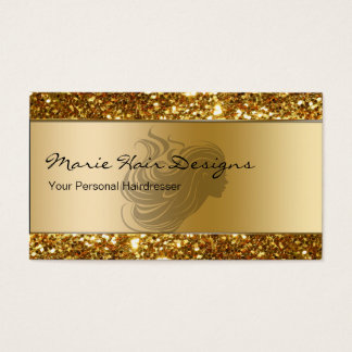 Noble Schönheits-Friseur-Visitenkarten Visitenkarten