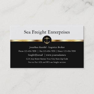 Noble Seefracht Visitenkarte