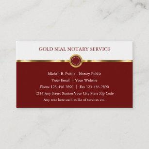 Nobler Notars-hochwertige Visitenkarten Visitenkarte