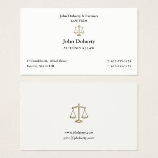 Nobler Rechtsanwalt Rechtsanwalt am Gesetz| Visitenkarte