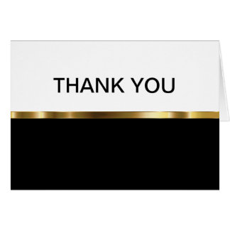 Nobles Geschäft danken Ihnen Karten
