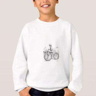 Nobles Retro altes Fahrrad Sweatshirt