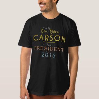 Nobles stilvolles Ben-Carson Präsidenten-2016 Gold T-Shirt