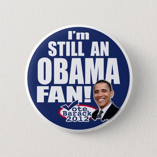 Noch ein Obama-Fan Runder Button 5,7 Cm