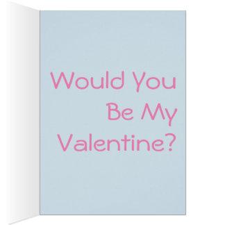 Noch einer Valentine und ich sind noch Single Karte