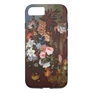 Noch Leben der Blumen in einem Korb iPhone 8/7 Hülle
