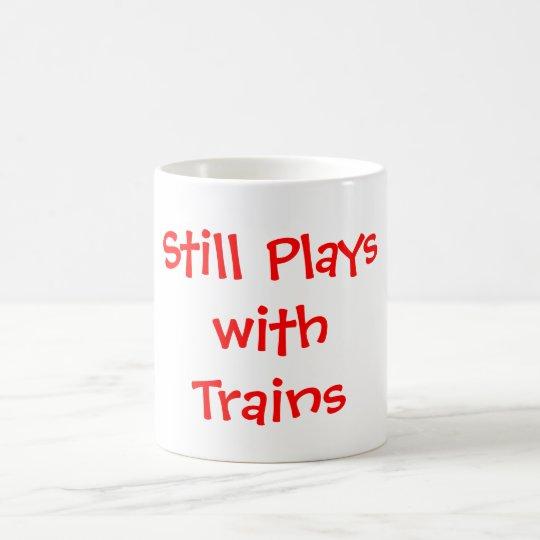 Noch Spiele mit Zügen Kaffeetasse