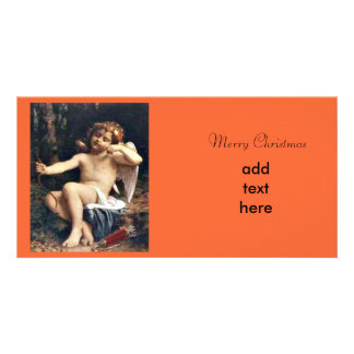 Noël d'ange photocarte customisée