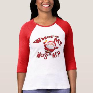 Noël de mauvais goût de chemise drôle de Noël Ho T Shirt
