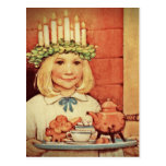 Noël Nisse et jour Karin de Lucia Carte Postale